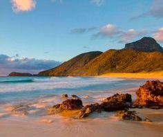 best secret beaches on earth: Lord Howe Island