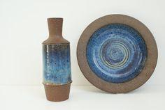 Vase from Danish pottery Michael Andersen