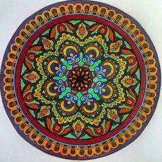 Sunday Mandala by Tarra Lu