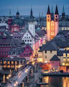 16 Würzburg (Bavaria, Germany) by Christina Tan (@sassychris1) on Instagram c.