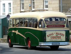 Kooky Cornish guest transport - the King Harry ferry bus  (by didbygraham, via Flickr)