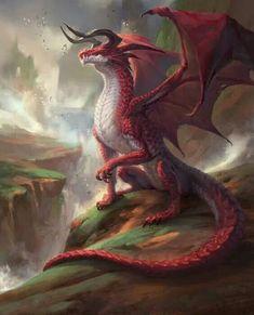 Legendary Dragons: A Edition Supplem. Legendary Dragons: A Edition Supplement by Jetpack 7 — Kickstarter Mythical Creatures Art, Mythological Creatures, Magical Creatures, Fantasy Monster, Monster Art, Monster Hunter, Dark Fantasy Art, Fantasy Artwork, Legendary Dragons
