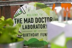 Mad Science Birthday Party…For Adults! | Spaceships and Laser Beams