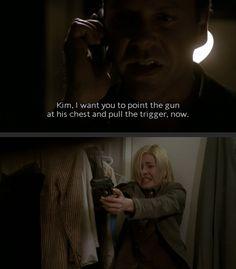 Jack Bauer and Kim Bauer; Season 2