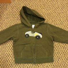 Check this item I am selling on Totspot, the resale shopping app for families.   Gymboree army green race car  zipfront sweatshirt Gymboree  Love this! #kidsfashion #familyfashion