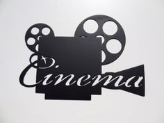 Movie Reel Wall Decor amazon - clapboard, movie reel relax enjoy the show home movie