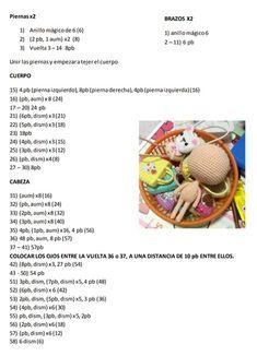 Engry Peral Villaverde Crochet Case, Diy Crochet, Crochet Toys, Crochet Keychain Pattern, Crochet Bunny Pattern, Crochet Amigurumi Free Patterns, How To Start Knitting, Crochet For Kids, Amigurumi Doll