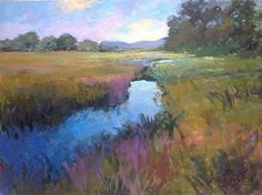 Country Art, Low Country, Watercolor Paintings Nature, Country Paintings, Lorraine, Coastal, Fine Art, Ponds, Wall Art