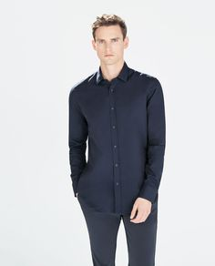 Image 2 of PLAIN SHIRT from Zara