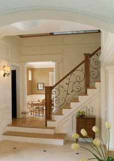 Carriage House - traditional - staircase - boston - by Siemasko + Verbridge