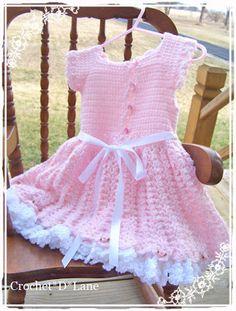 crochet d lane: Pretty in Pink