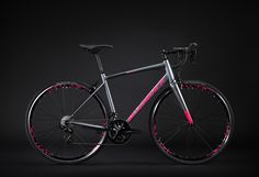 The Strela range is a great option for those who want a high performance bike without the implications of carbon fiber. Performance Bike, Bike Design, Road Bike, Carbon Fiber, Bicycle, Tube, Sports, Products, Hs Sports