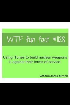 Who knew?? hah lol