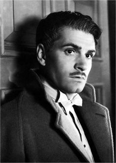 Laurence Olivier as Maxim de Winter in Alfred Hitchcock's 'Rebecca' from 1940