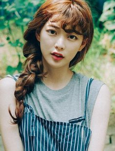 Fringe Hairstyles, Curled Hairstyles, Pretty Hairstyles, Girl Hairstyles, Blackpink Fashion, Fasion, Hair Inspo, Hair Inspiration, Bora Lim