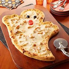 Halloween Pizza from Land O'Lakes