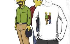 Walter & Jesse as Simpsons by TVdesigns