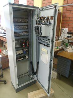 Щит автоматической разгрузки линий. Внутреннее расположение оборудования. Октябрь 2016