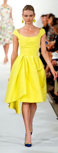 YELLOW & PRINTED DRESSES