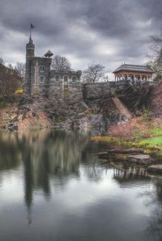 When visiting NYC and running in Central Park for the first time, I found Belvedere Castle. I can't wait to run Central Park again...someday.