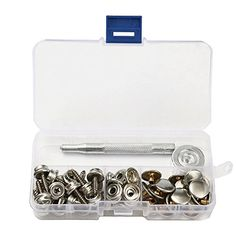 Atv,rv,boat & Other Vehicle Logical 60 Pack For Boat Marine Canvas Cover Screw Stud Fastener Snap Snaps Buttons Kit