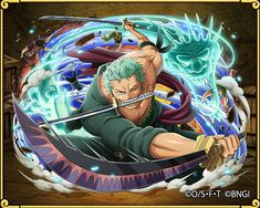 Roronoa Zoro rebirth Straw Hat Crew of