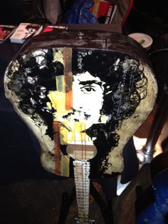 Phil Lynott inspired Instrumental Art created for the Musical Youth Foundation and raffled off at the 2014 Vibe For Philo in Dublin, Ireland!