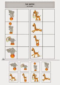 Preschool Curriculum, Preschool Kindergarten, Matching Games, Pre School, Activities For Kids, About Me Blog, Pairs, Teaching, Trinidad