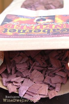 Wine Infused Oak Barrel BBQ Chips