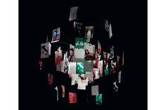 Zettel'z Viva L'Italia Suspension Lamp by Ingo Maurer for Ingo Maurer