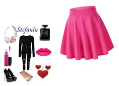 """stefania"" by ella1122ghost on Polyvore featuring River Island, Chanel, MAC Cosmetics, women's clothing, women, female, woman, misses and juniors"