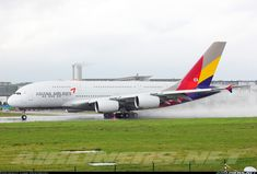 Asiana Airlines F-WWAP Airbus A380-841 aircraft picture