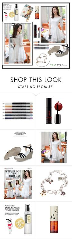 """""""YesStyle - 10% off coupon"""" by zehrica-kukic ❤ liked on Polyvore featuring Tony Moly, Bellini and Cosrx"""