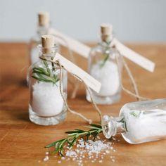 Sels aromatisés cadeau mariage / wedding gift diy