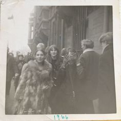 1966 Libby Gausden and Judith.(sis) / Foto by Syd Barrett. / From Zo / Thx xoxo