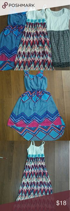 Bundle of 3 dresses Second picture is brand new no tag size 8 Third picture is maxi dress soze 8 Fourth is rachael & chloe size 8 All in good condition Rachael & Chloe Dresses
