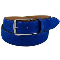Vindonissa Blue Suede Belt.  HA! Bet I could never get Barry to wear this!