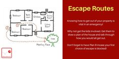 """""""For get your kids to draw a plan of your home and identify escape roots incase of an emergency! How To Get, How To Plan, Emergency Preparedness, Children, Kids, Roots, Doodles, Draw, Modern"""