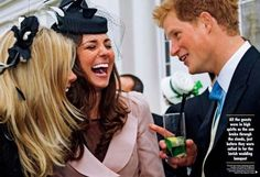 If I ever had to choose a royal to hang with, it would without question be Prince Harry. Funny + ginger = awesome