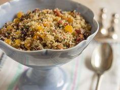 Receita Dedo de Moça: Couscous marroquino com frutas secas e bacon