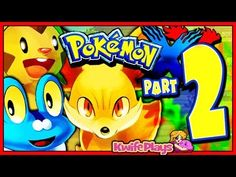 Pokenoob Part 2! Watch Kwife Play Pokemon X/Y Live!