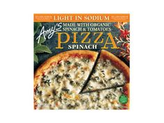 100 Cleanest Packaged Food Awards 2013: Dinner: Amy's Light-In-Sodium single serve spinach pizza http://www.prevention.com/food/healthy-eating-tips/100-cleanest-packaged-food-awards-2013-dinner?s=3