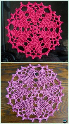 Crochet Hearts Desire Doily Free Pattern - Crochet Doily Free Patterns