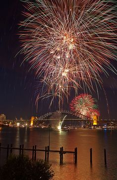 happy new year in sydney australia