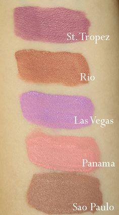 OFRA Liquid Lipsticks St Tropez / Rio / Las Vegas / Panama / Sao Paulo