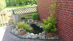 Kleiner Teich auf der Terasse