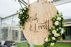 Marquee Wedding Sydney - Event Design Styling by The Style Co. Wedding Favours Sign, Diy Wedding Reception, Marquee Wedding, Wedding Signage, Wedding Events, Event Signage, Wedding Letters, Wooden Wedding Signs, Weddings