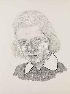 Hannah van Bart - graphite on paper