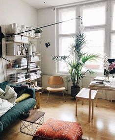 Bye bye home, we see us in one week. and I are on our way to Vancouver✌🏼🇨🇦🛫 [Werbung da Markennennung / unbezahlt] My Living Room, Living Room Decor, Living Spaces, Small Living, Modern Living, Home Interior Design, Interior Architecture, Piece A Vivre, Decor Room