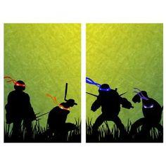Teenage Mutant Ninja Turtles Art Poster